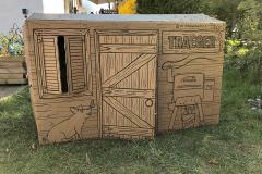 Spielhaus für Kinder aus dem Karton vom Traeger