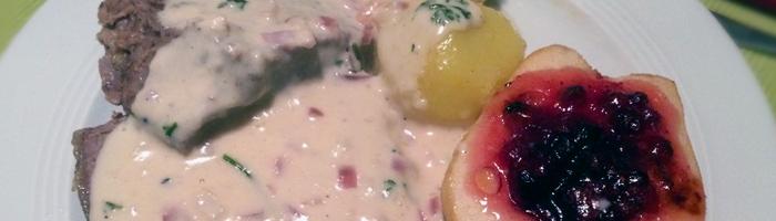 Heute mal nicht gegrillt: Tafelspitz in Meerrettich-Sauce