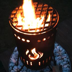 Feuerkorb – Stahlbude