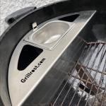 Kugelsmoker Weber Kugelgrill | Passend für die meisten 57er Kugelgrills bekannter Marken!