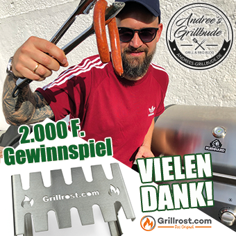 Gewinnspiel Instagram 2000 Follower andrees grillbude