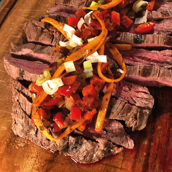 Flank Steak grillen - so gelingt das perfekte Steak