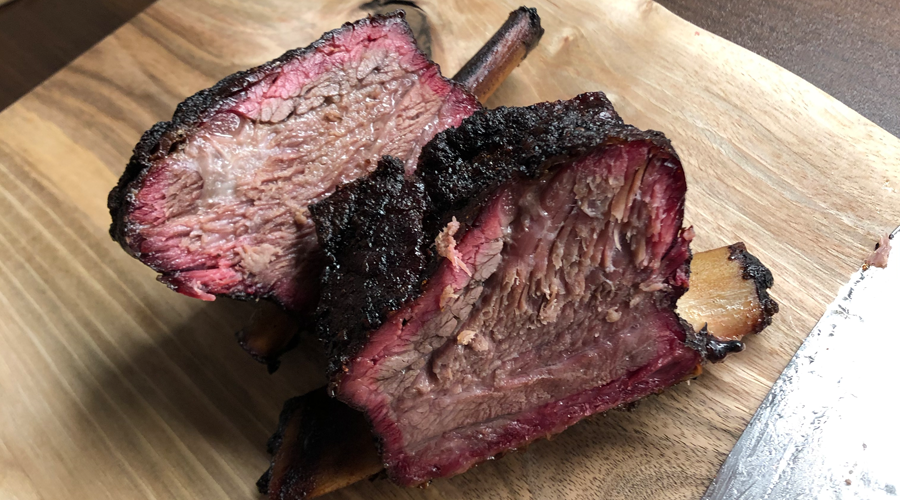 Barbeque Low & slow beef ribs