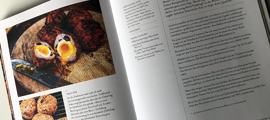 Inhaltsseite Grillbuch Food and Fire