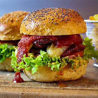 Sucuk Burger türkisches Fastfood