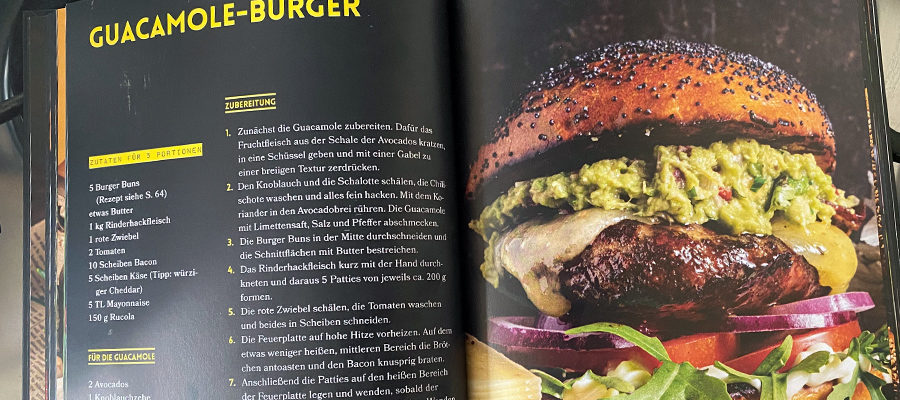 Burger Rezept aus Ring of Fire Der Grill Typ