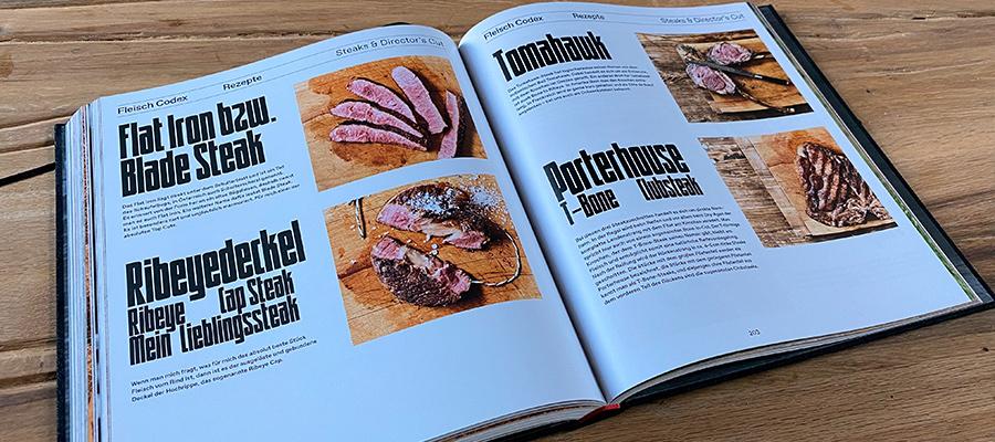 Fleisch Codex von Ludwig Maurer - Steak Cuts - Andrees Grillbude Rezension